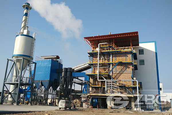 70t Industrial Biomass Fired CFBC Steam Boiler
