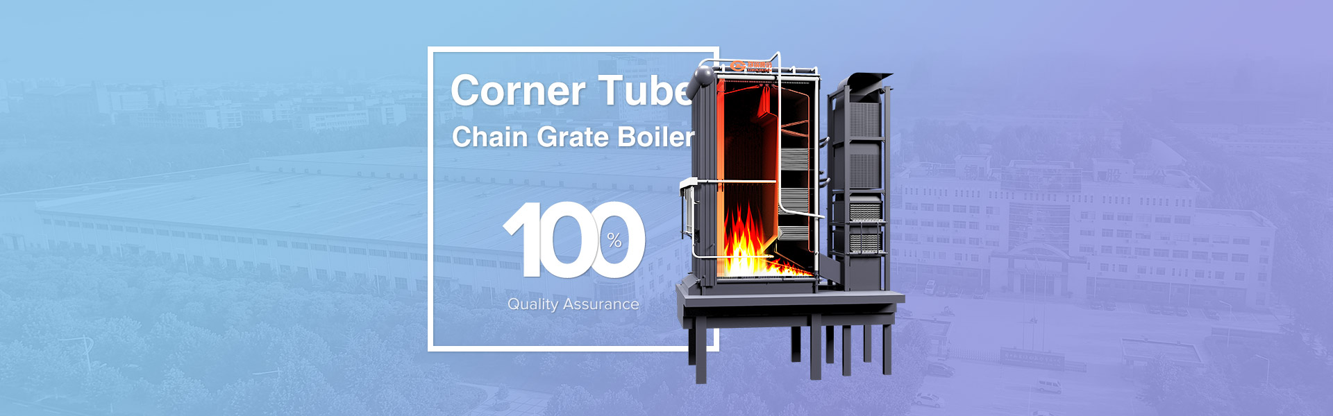biomass fired chain grate boiler