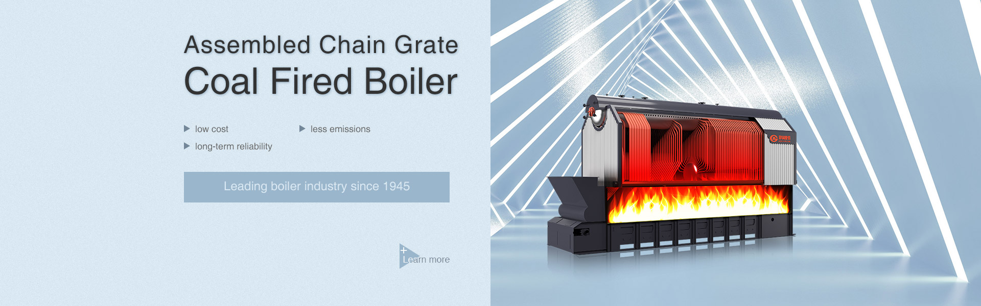 assembled biomass fired chain grate boiler